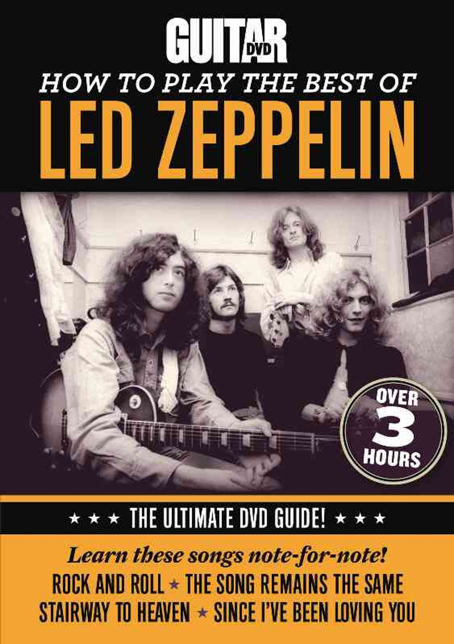 DVD : Jimmy Brown - Guitar World: How To Play The Best Of Led Zeppelin (DVD)