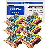 ink4work Set of 30 Pack PGI-250XL & CLI-251XL Compatible Ink Cartridge Set for Pixma IP7220, MG5420, MG6320, MX722, MX922