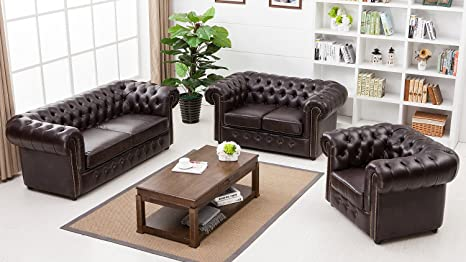 Lifestyle For Home Chesterfield - Juego de Cojines y ...