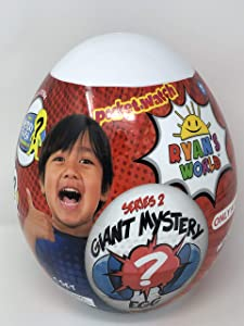 Ryan's World Limited Edition Exclusive Giant Mystery Egg Series 2 White