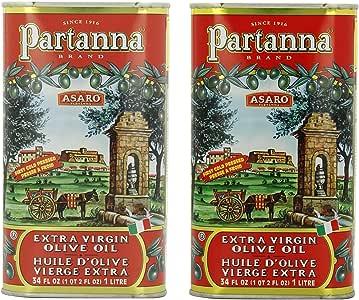 Partanna Extra Virgin Olive Oil, 34-Ounce by Partanna