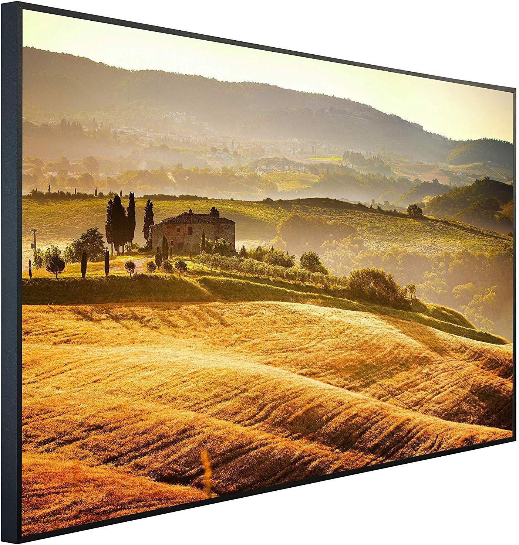 Ecowelle Infrarotheizung mit Bild Infrarot Heizung| 78 Made in Germany | 120x74x3cm 900 Watt