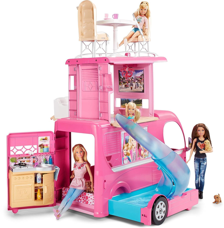 Al miglior prezzo MATTEL - Barbie Glam Pop up Camper (CJT42)