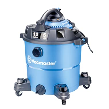 Vacmaster 12 Gallon, 5 Peak HP, Wet/Dry Vacuum with Detachable Blower, VBV1210