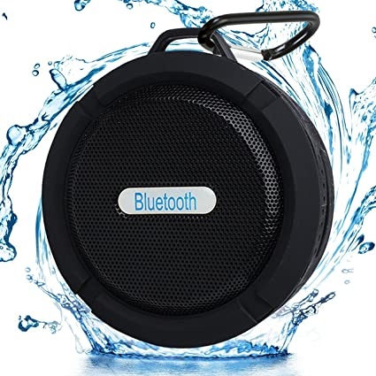 56b3d64e206 SWELLSOUND Shower Speaker Bluetooth Waterproof Wireless all Devices Portable  for Outdoor Suction Cup Hook Built-