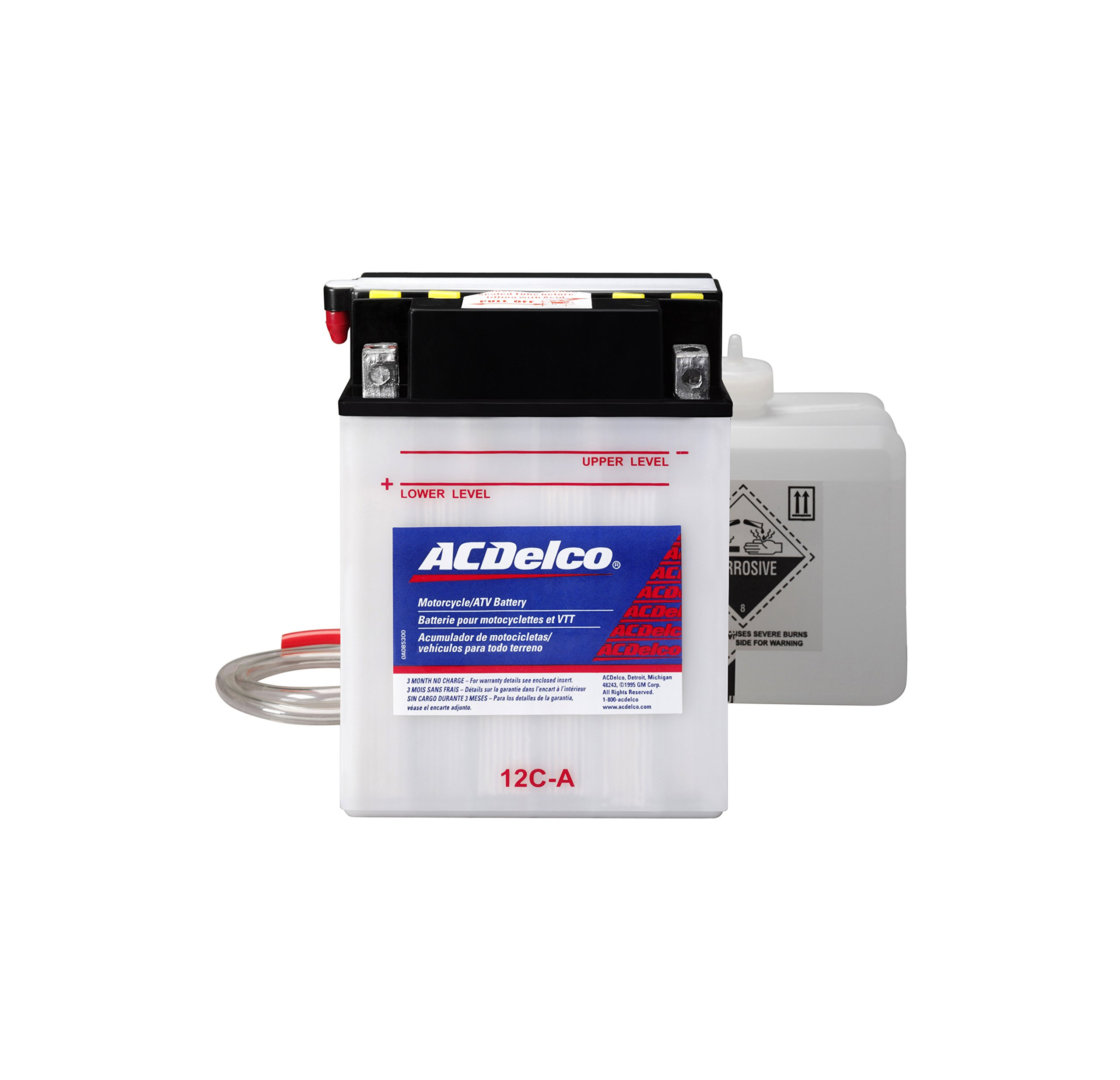 ACDelco AB12CA Specialty Conventional Powersports JIS 12C-A Battery