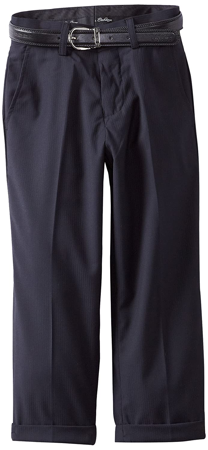 American Exchange Boys' Little Belted Dress Pants