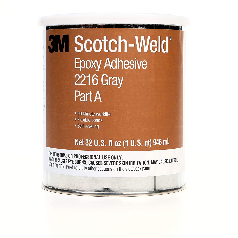 3M Scotch-Weld Epoxy Adhesive 2216, Gray, Part B/A