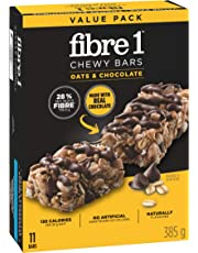 Fibre 1 and Chocolate CHEWY BARS , 11-Count, 385 Gram