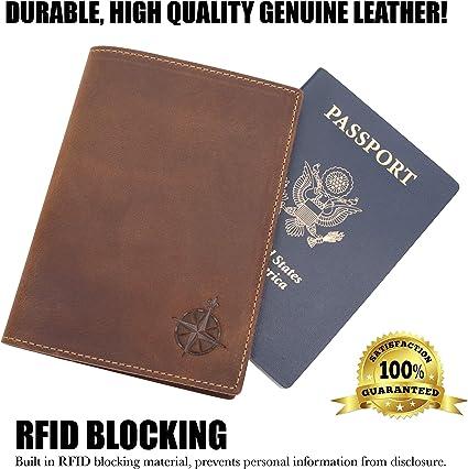 Passport Organizer Wallet Handmade LeatherGRU 1