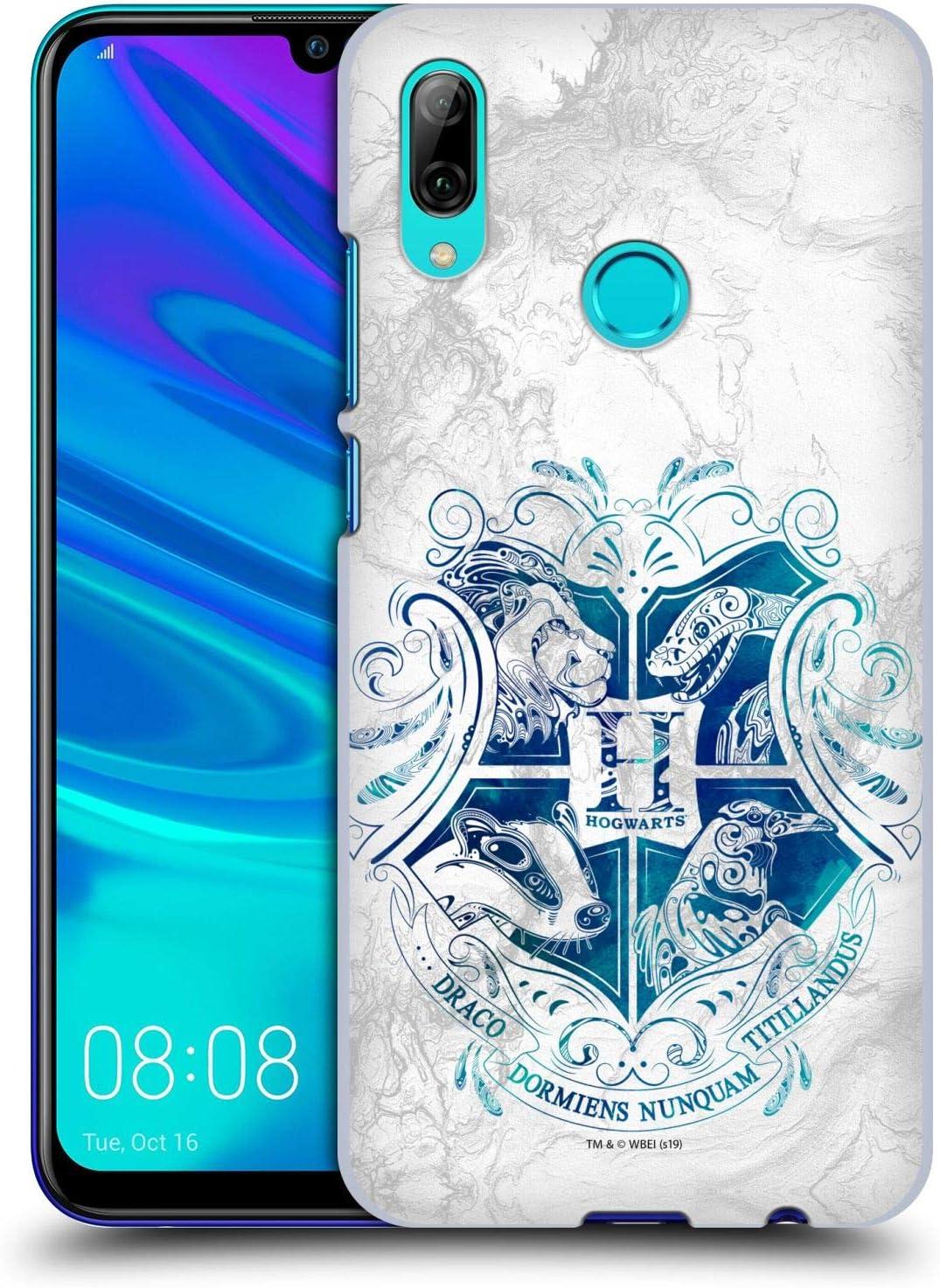 Head Case Designs sous Licence Officielle Harry Potter Hogwarts Aguamenti Deathly Hallows IX Coque Dure pour l'arrière Compatible avec Huawei P Smart ...