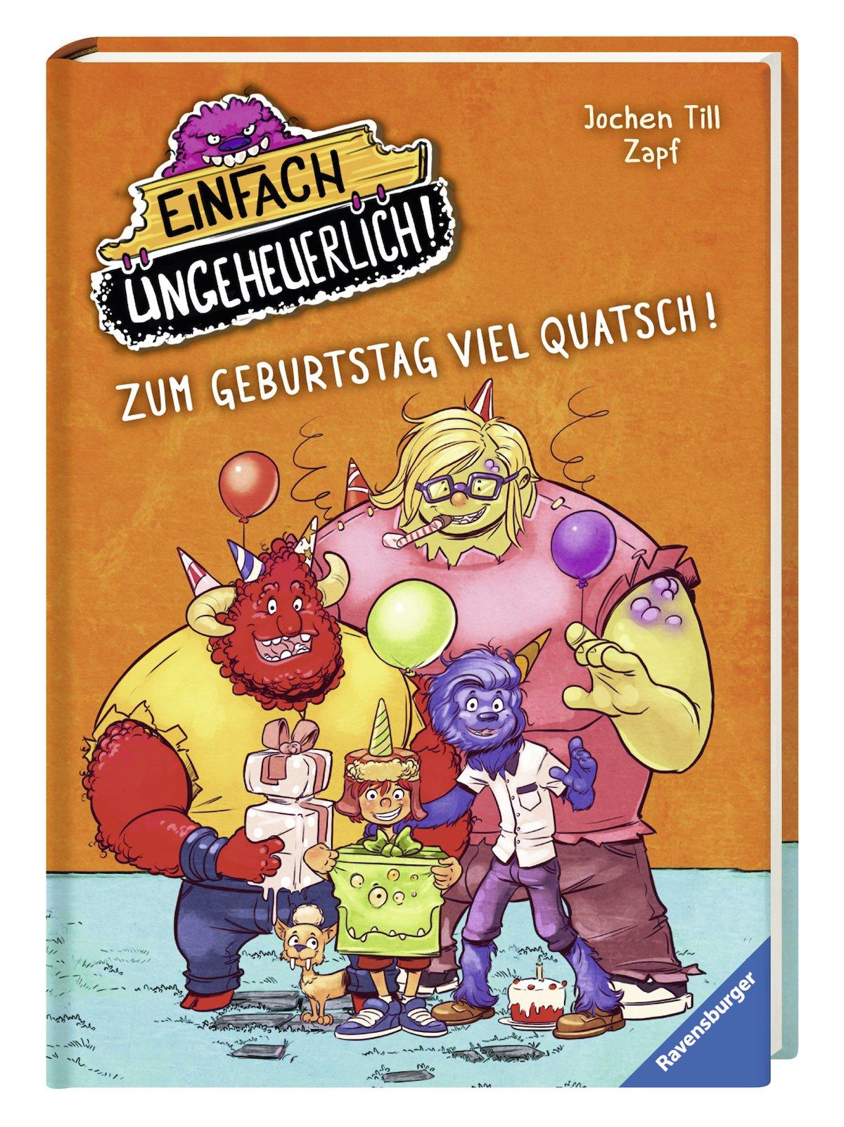 Zum Geburtstag Viel Quatsch Amazon Co Uk Jochen Till Zapf