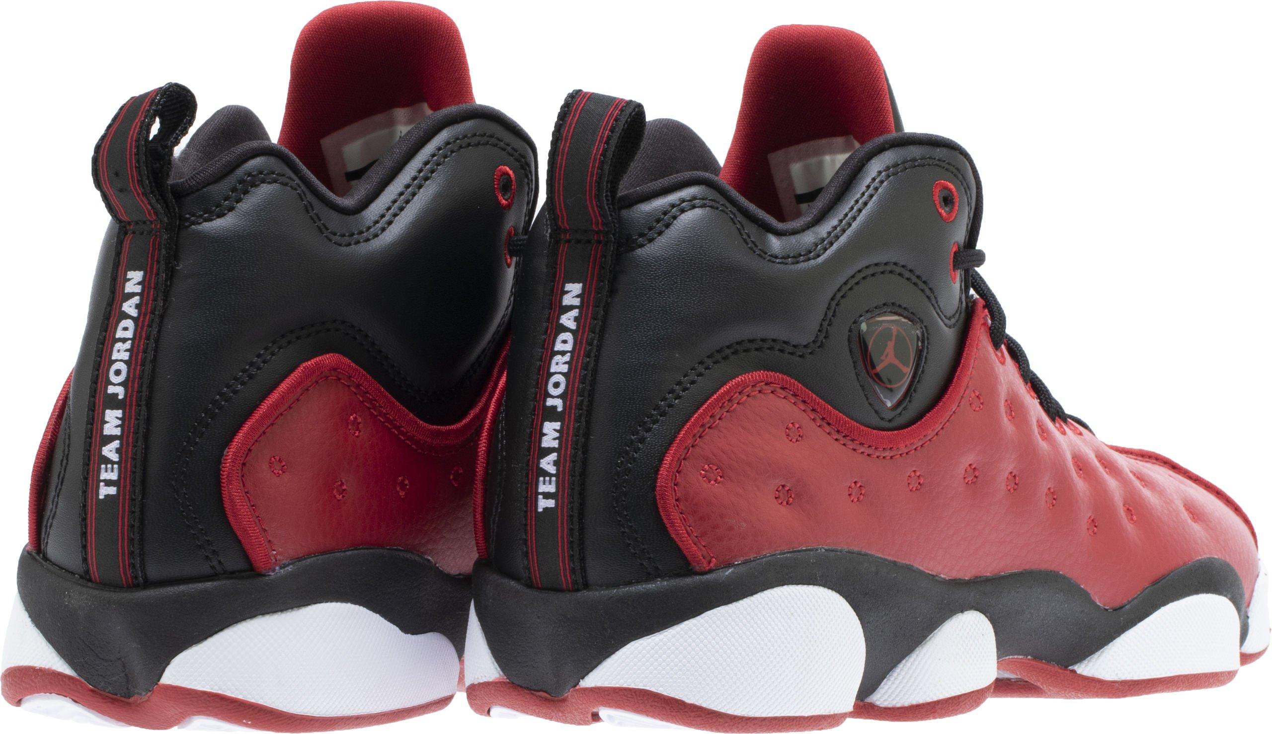 Jordan Kids Jumpman Team II GS Gym RED Gym RED Black White Size 3.5 by Jordan (Image #4)