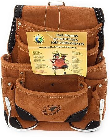 Seven Star Tools P 1200rc Werkzeugtasche Aus Wildleder 10 Taschen Verstarkte Ecken Und Tunnelschlaufe Amazon De Baumarkt