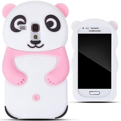 Amazon.com: Zooky® rosa silicona Panda – Carcasa/Cover para ...