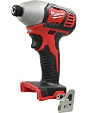 Milwaukee M18 18V 1/4 Inch Hex Impact Driver with 1,500 in-lbs Torque (2656-20) (Power Tool Only - Battery and Charger Not Included)