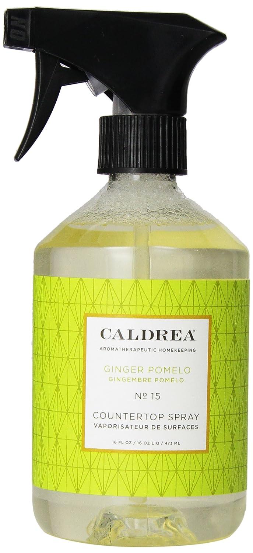 Amazon.com: Caldrea Countertop Cleanser, Ginger Pomelo, 16 Fluid ...