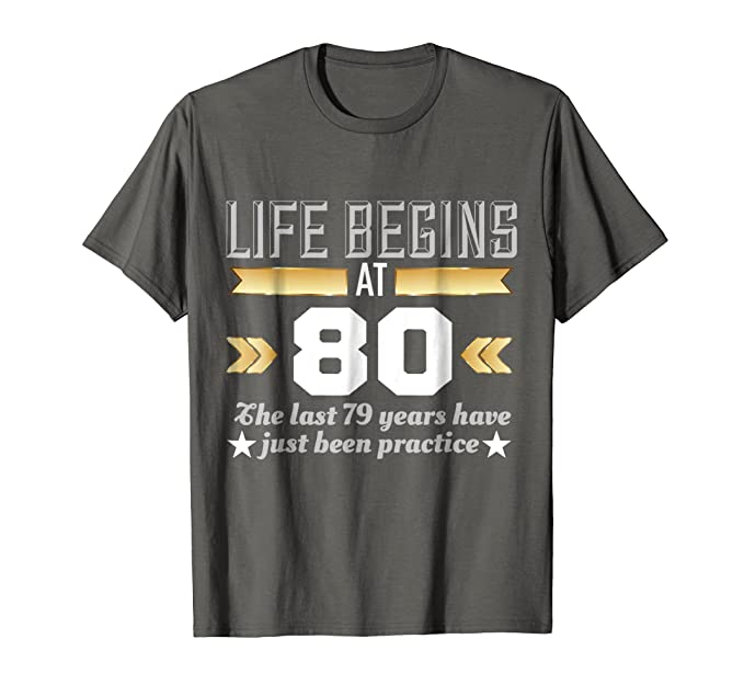 Mens Life Begins At 80