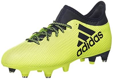 on sale 75197 f5cf5 adidas X 17.3 SG, Chaussures de Football Entrainement Homme, Multicolore  (Solar Yellow Legend