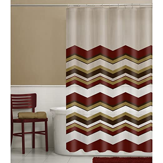 Amazon Maytex Arbor Tree 13 Piece PEVA Shower Curtain Set With 12 Hooks Home Kitchen