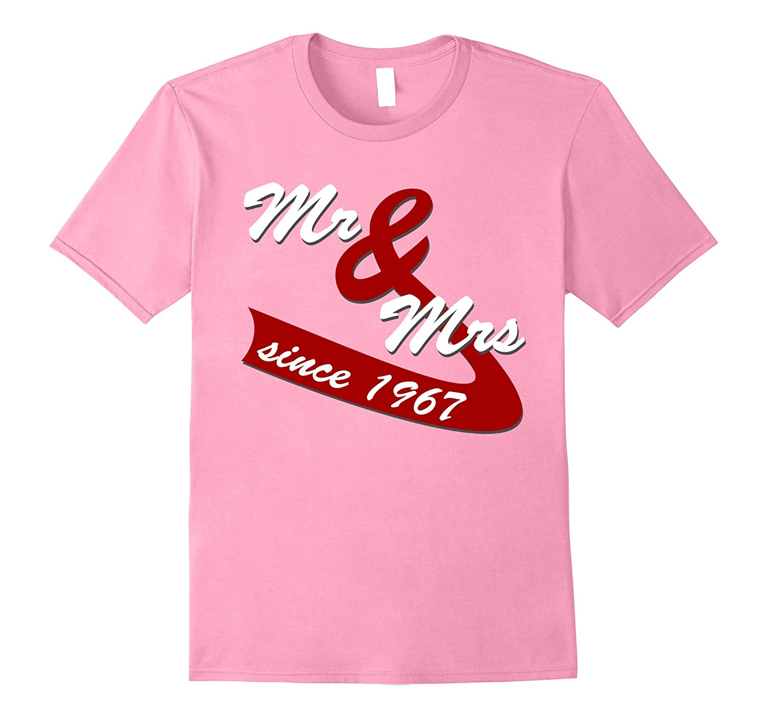 50th Wedding Anniversary Gift Ideas Couples T shirt-TH - TEEHELEN