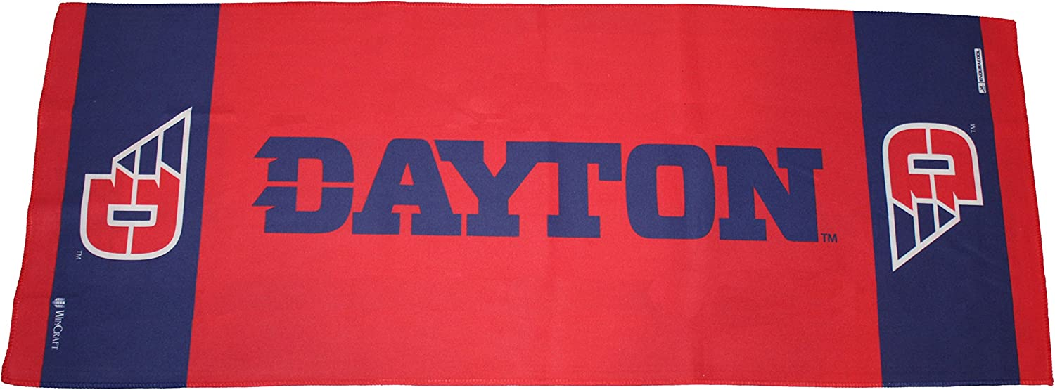 WinCraft University of Dayton Flyers Cooling Towel, 1 Sided, 12x30 inches