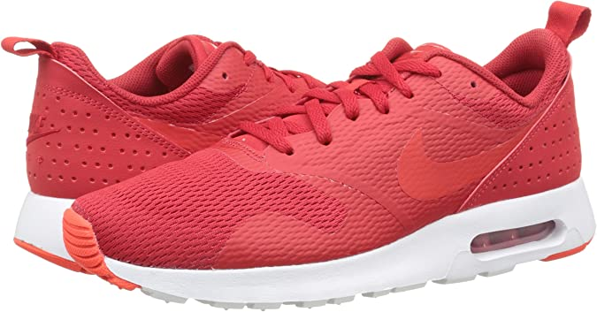 Nike Herren Air Max Tavas Low Top, Rouge,Blanc, 41 EU