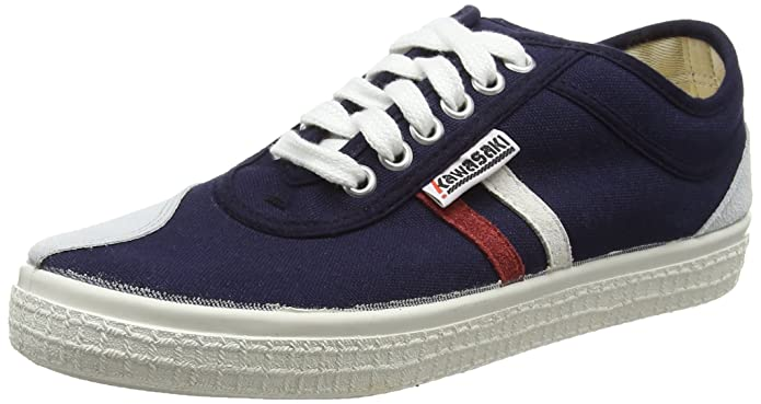 Kawasaki Benson, Sneakers Basses Mixte Adulte - Bleu - Blau (Dark Navy, 592), 39 EU