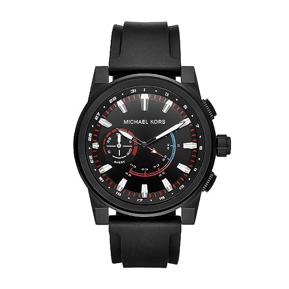 ebef7d3deb3d Michael Kors Reloj Analogico para Hombre de Cuarzo con Correa en Silicona  MKT4010  Amazon.es  Relojes