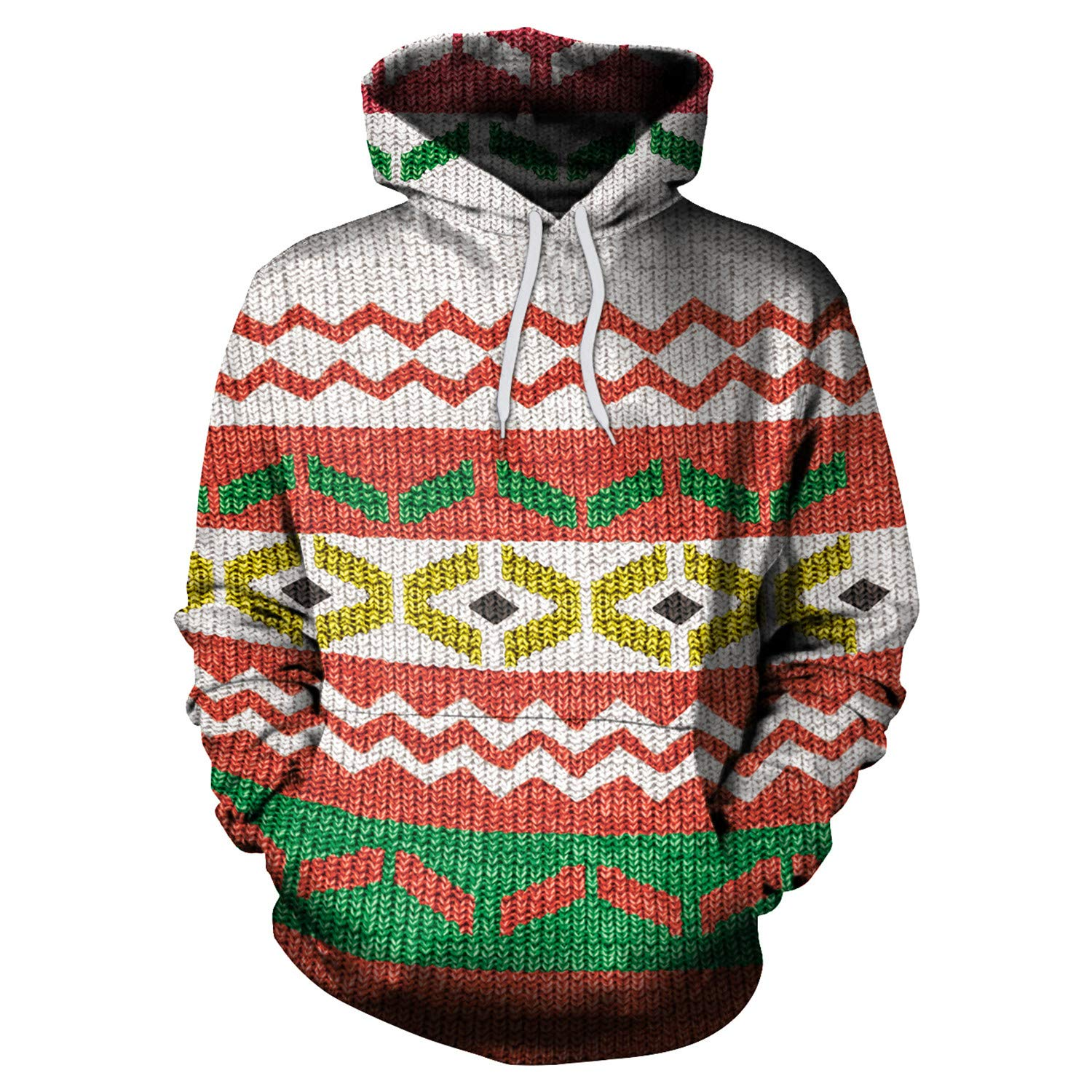 Mrsrui 3D Graphic Printed Hoodies for Men,Women, Teen Unisex Pullover Hooded Shirts by Mrsrui