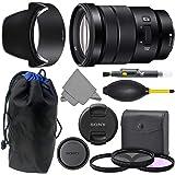 Sony E 18-105mm f4 SELP18105G: Sony E PZ 18-105mm f/4 G OSS Lens + AOM Pro Kit Combo Bundle - International Version (1…