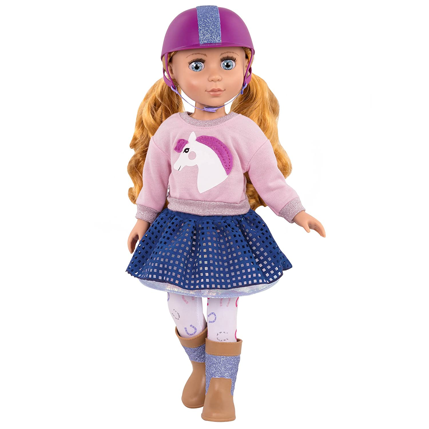 Glitter Girls by Battat - Gallop and Glow! Outfit -14-inch Doll Clothes– Toys, Clothes and Accessories For Girls 3-Year-Old and Up Branford LTD GG50026Z