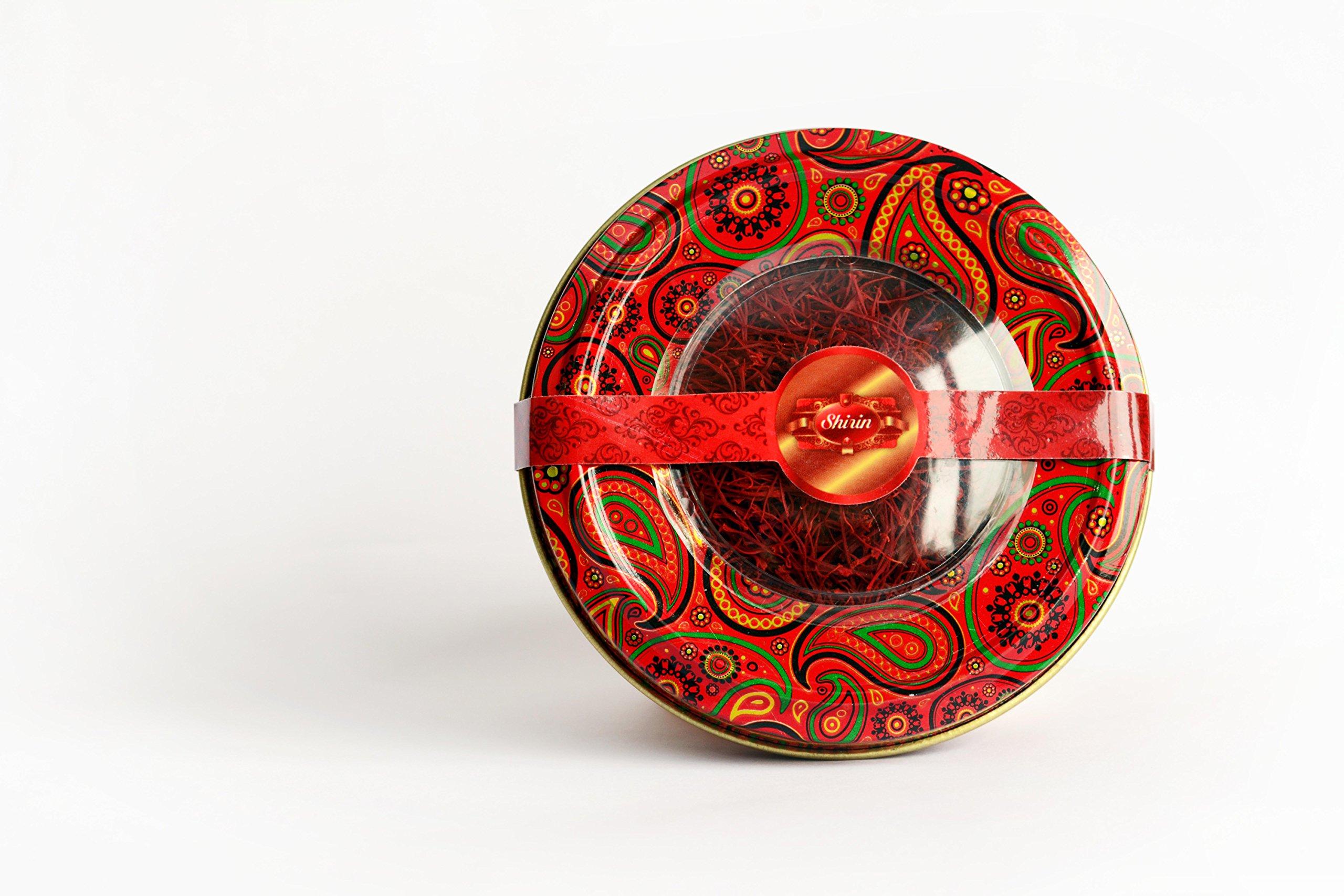 SHIRIN Saffron,Persian Pure & Natural,Premium Quality, Grade 1, All Red,4 Grams(0.141 OZ)