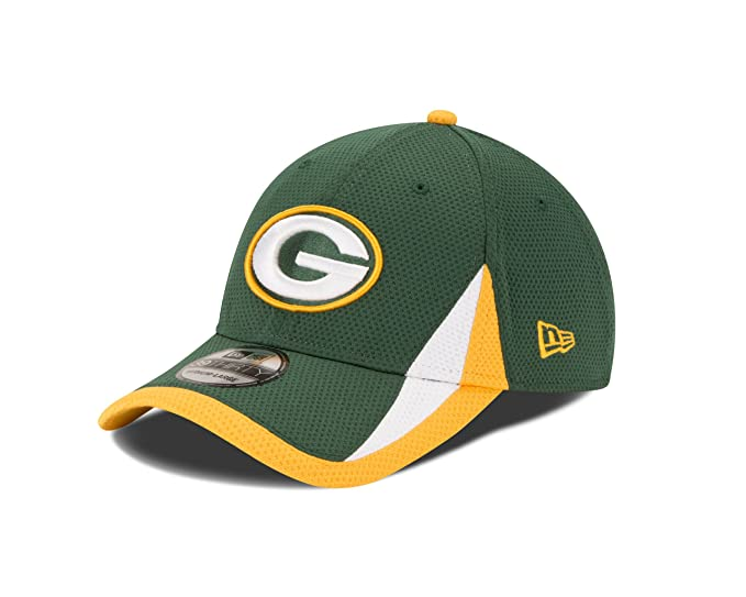 56d5c9e30a2 Image Unavailable. Image not available for. Color  NFL Green Bay Packers  Team Color Training 39THIRTY Cap ...