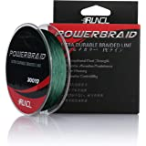 RUNCL PowerBraid Fishing Line 4/8/9 Strands, Braided Fishing Line 300/500/1000Yds - Seamless Weaving Tech, Enhanced…