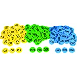 """Inspirational Classrooms 3133405 """"Decimal Place Value Counters Educational Toy (Pack of 300)"""