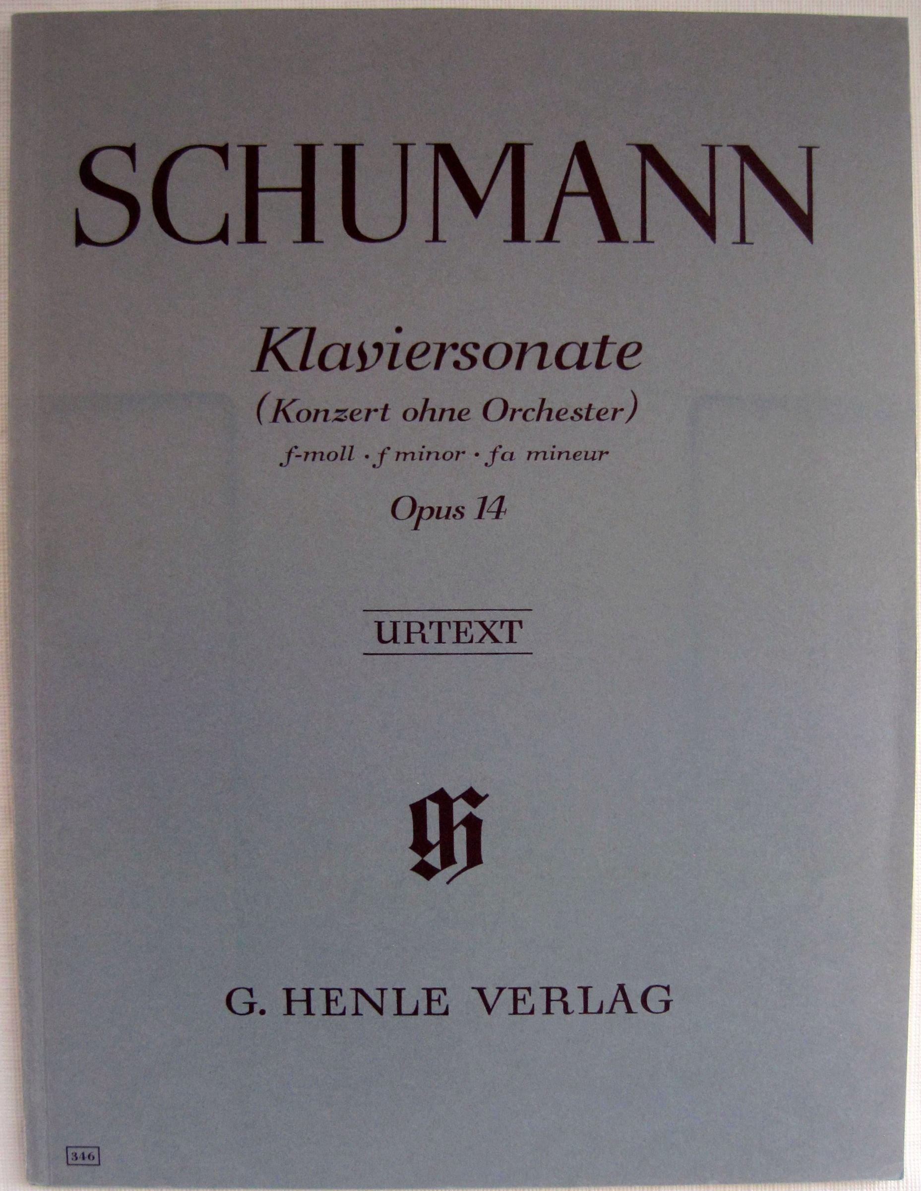 Beethoven Klaviersonate f-moll 1 URTEXT fa mineur Opus 2 Nr f minior