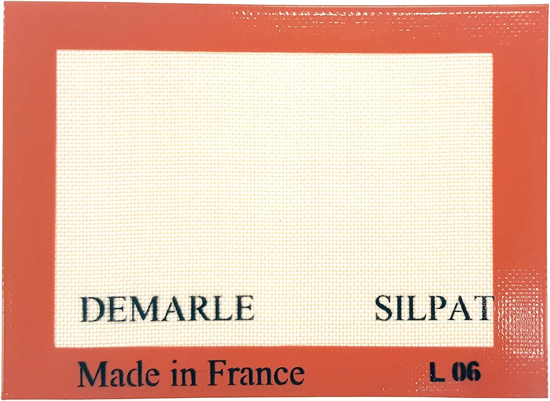 Silpat Premium Non-Stick Silicone Baking Mat, Toaster Oven Size, 7-7/8 x 10-7/8