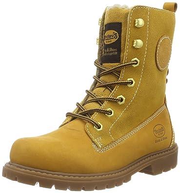 Dockers by Gerli Damen 41HL301-350 Desert Boots, Gelb (Golden Tan), 41 EU