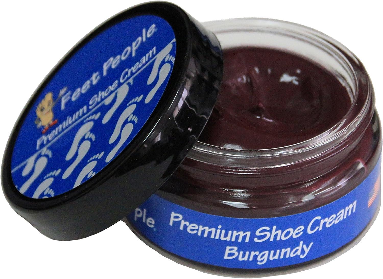 FeetPeople Premium Shoe Cream 1.5 Oz, Various Colors!
