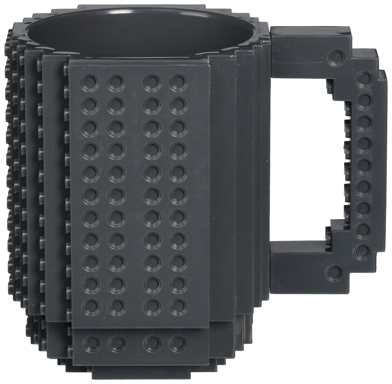 Build-On Brick Mug - BPA-free 12oz Coffee Mug OliaDesign