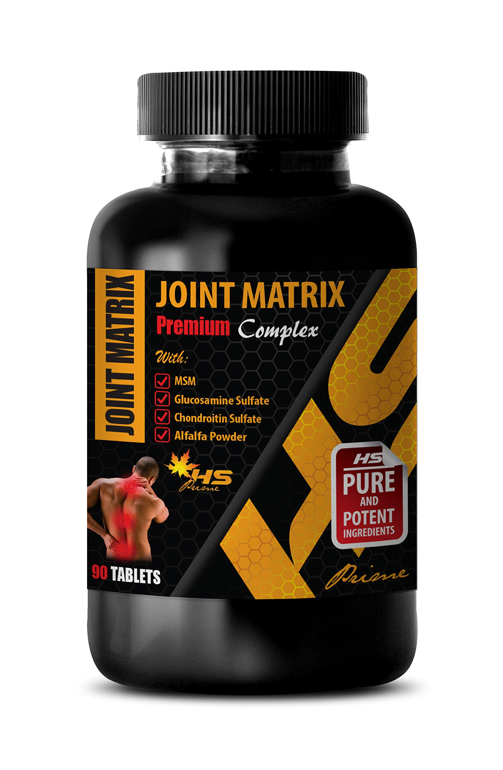 Joint Support Supplements Best Seller - Joint Matrix 2170MG - Premium Complex - Msm Supplement Pills - 1 Bottle 90 Tablets