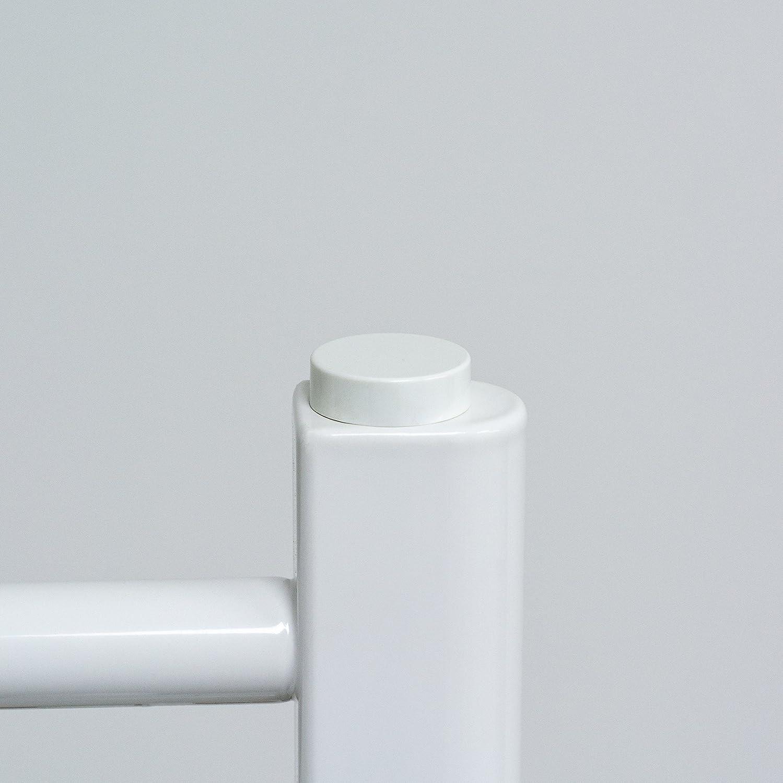 2 Tapas Blancas para Tapón Ciego de Radiador Toallero y Ventila de Aire / Válvula de Purga: Amazon.es: Hogar