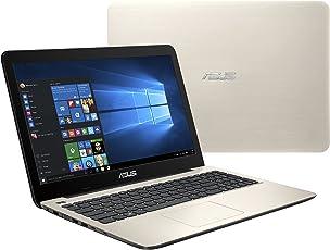"ASUS VivoBook X556UR-XX340T 2.5GHz i5-7200U 15.6"" 1366 x 768Pixeles Oro Portátil computadora portátil - Ordenador portátil (Intel® Core™ i5 de la séptima generación, 2.50 GHz, 39.6 cm (15.6""), 1366 x 768 Pixeles, 8 GB, 1000 GB)"
