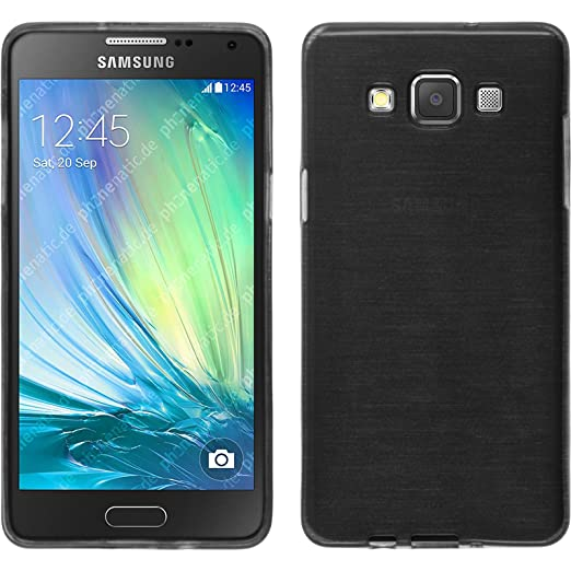 11 opinioni per PhoneNatic Custodia Samsung Galaxy A5 (A500) Cover argento brushed Galaxy A5