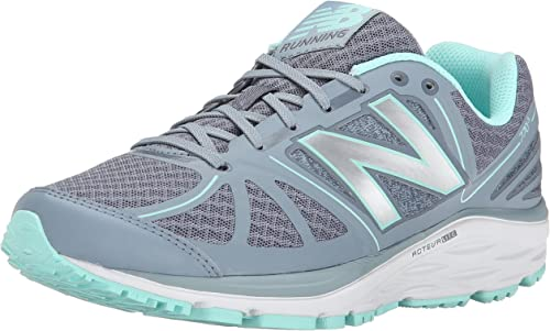 New Balance Women's W770v5 Running Shoe-w, Grey/Blue, 8 W US ...