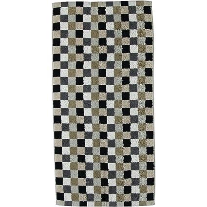 Cawö – – Frottier Toalla con patrón de cuadros en diferentes colores y Tamaños (7047