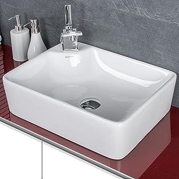 Waschbecken Amazon.Waschbecken Handwaschbecken Aufsatzwaschbecken Waschschale Waschtisch Waschplatz Kr44