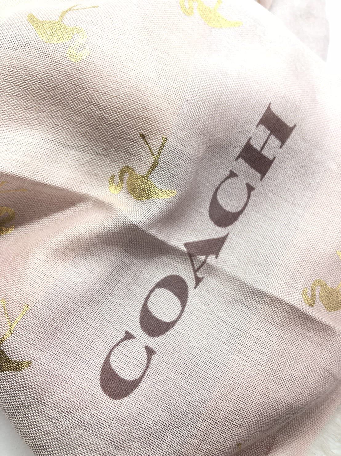 0eca3c2f5634 Amazon | [コーチ] COACH アパレル (ストール) ショール F28797 LPK グラデーションピンク フラミンゴ スカーフ レディース  [アウトレット品] [並行輸入品] | スカーフ ...
