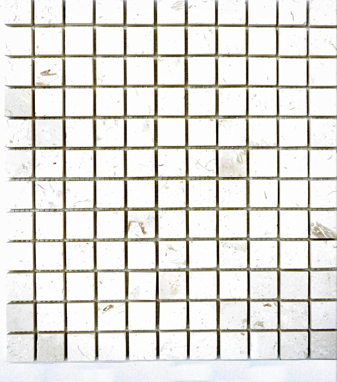 Cut Sample Limestone Dark Grey Rectified Porcelain Tile 300 x 600mm